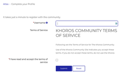 Marketing Registration Page