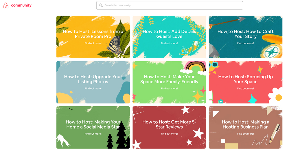 'How to Host' Series Homepage