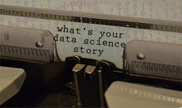 typewriter your data science story.png