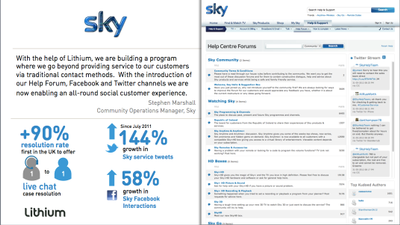 Sky Community Screen Shot