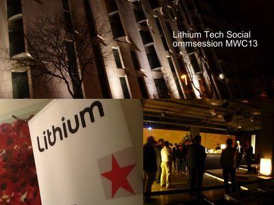 lithium Social Ommsession Barcelona