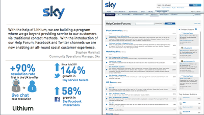 Sky Community Screen Shot